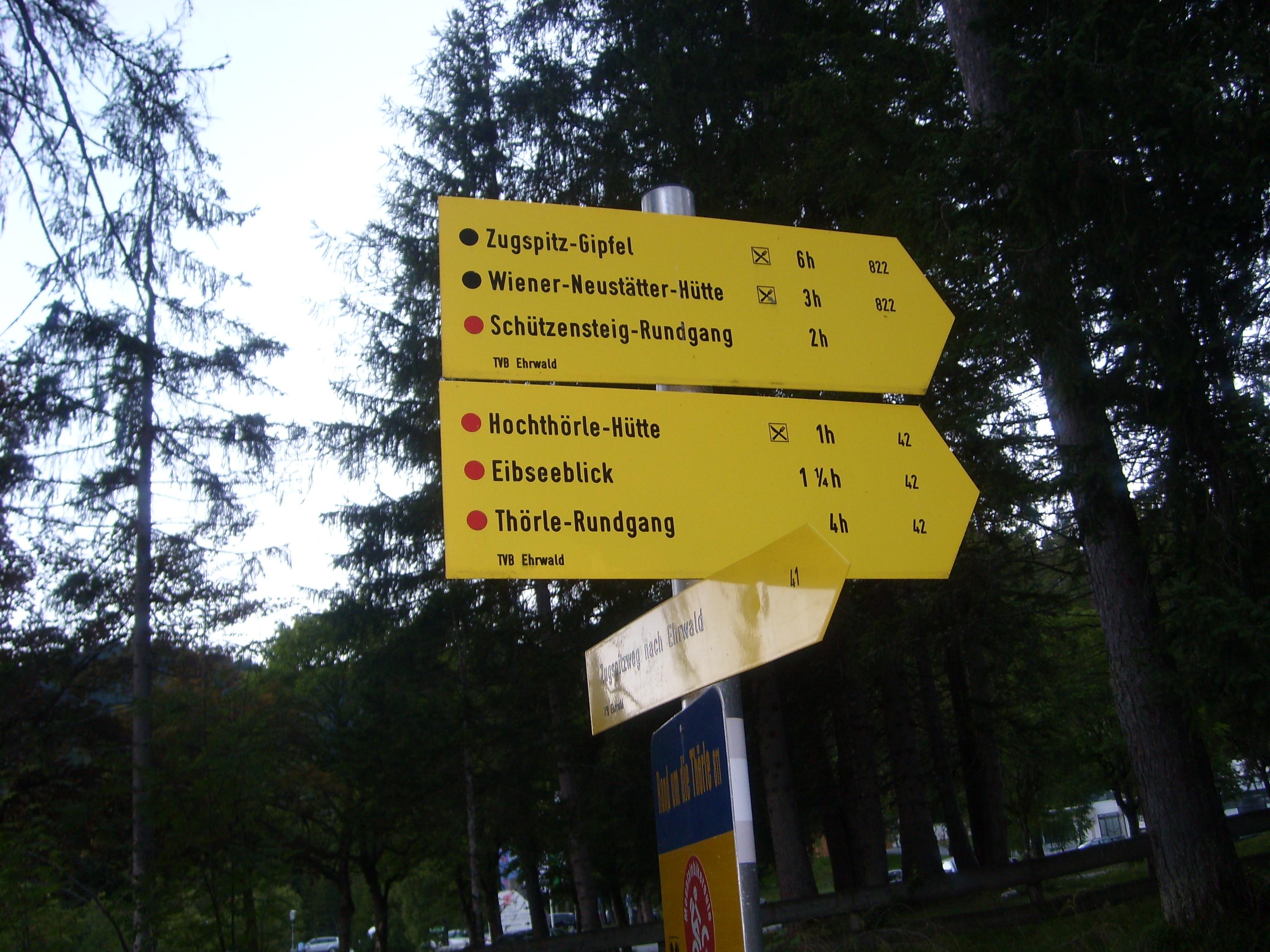 Klettersteig Zugspitze Stopselzieher : Bergtour ehrwald stopselzieher klettersteig zugspitze