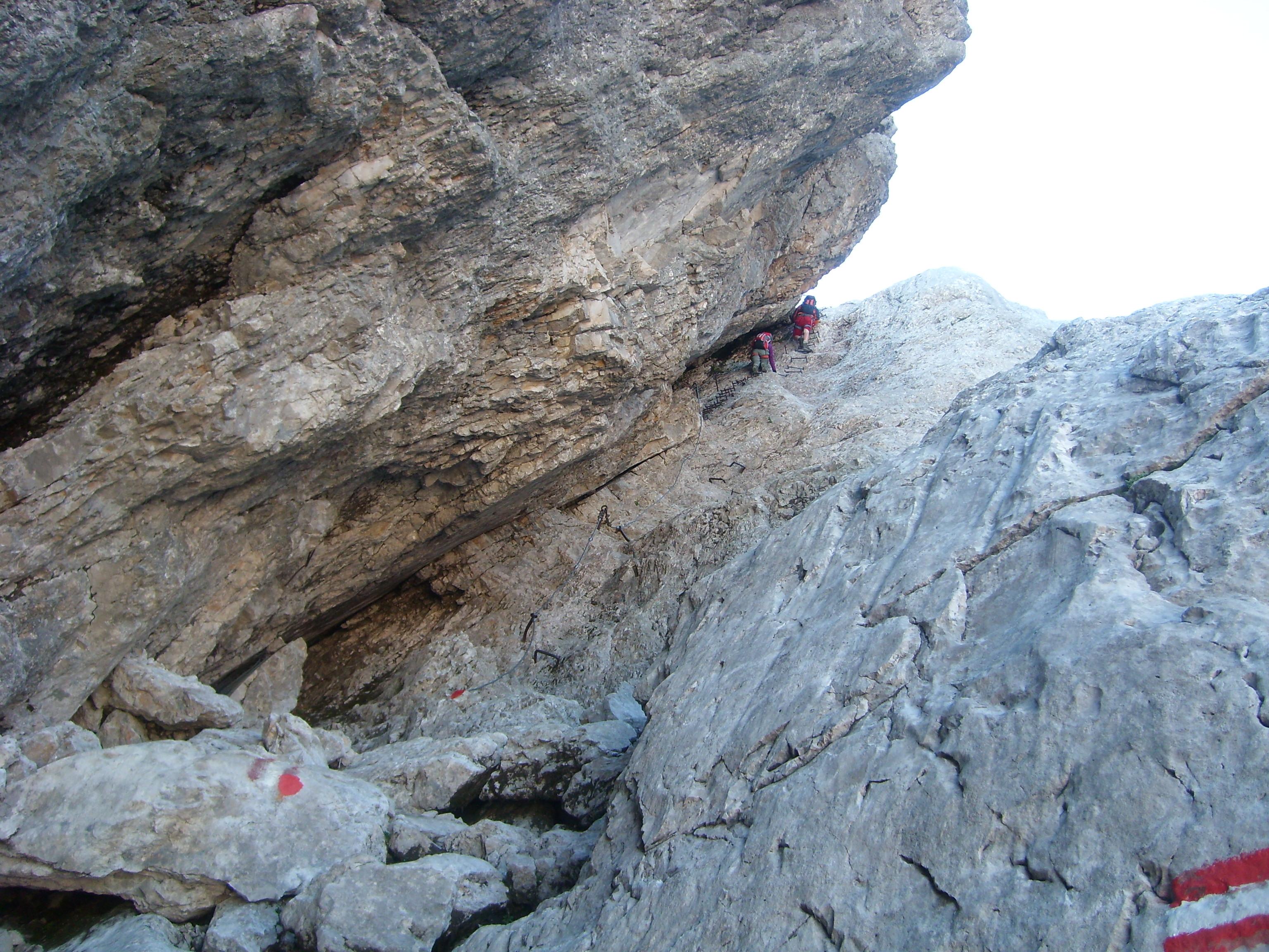 Klettersteig Stopselzieher : Auf die zugspitze über den klettersteig u201cstopselzieheru201d u2013 19.08.2012